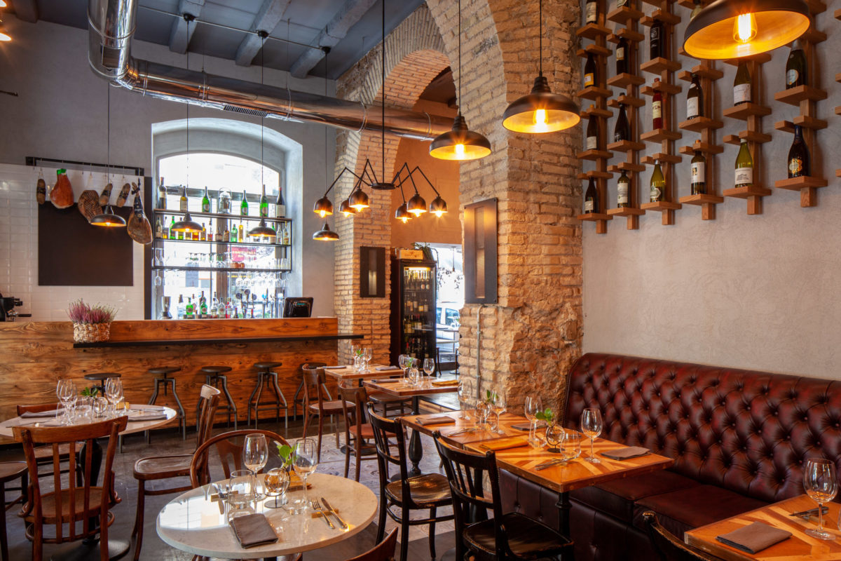 Tavola ristorante roma